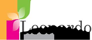 Leonardo Lampwork Logo