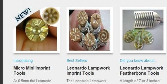 Leonardo Lampwork Newsletter