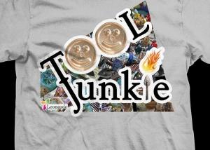 Leonardo Lampwork Tool Junkie T Shirt
