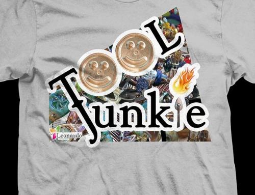 Leonardo Lampwork Tool Junkie T-Shirt