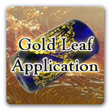 Leonardo Lampwork Gold Leaf Tutorial Box Design