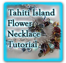 Leonardo Lampwork Tahiti Island Flower Tutorial Box Design