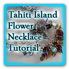 Leonardo Lampwork Tahiti Island Flower Tutorial Box Design