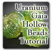 Leonardo Lampwork Uranium Gaia Hollow Tutorial Box Design